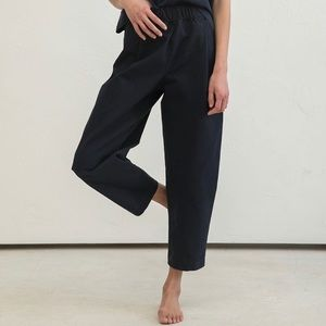 Elizabeth Suzann Andy Trousers in Cotton Canvas